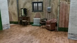 We were asked to build this touring stage set for ' The Boy with Tape on His Face'. A fantastic comedy mime production.