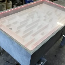 Maze Runner table for commercial