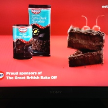 Federico was one of a series of talking cakes we made as idents for The Great British Bake Off