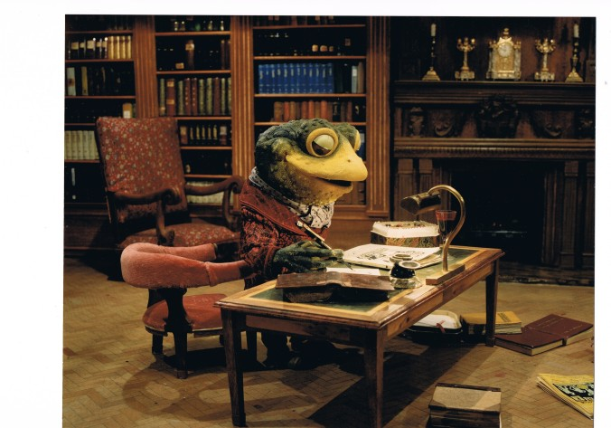 toad in his Library